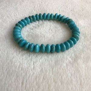 Coldwater Creek Turquoise-Like Howlite Bracelet